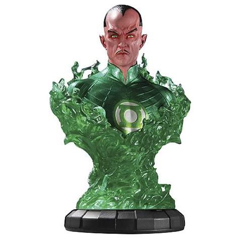 Dc Blackest White Lantern Sinestro Bust green lantern 1 4 scale sinestro bust dc