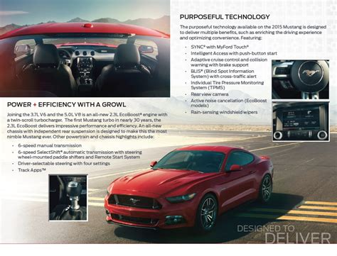 2015 ford mustang dealer preview guide autoevolution