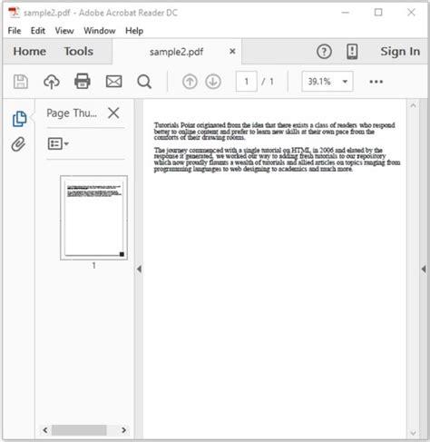 tutorialspoint go pdf pdfbox splitting a pdf document