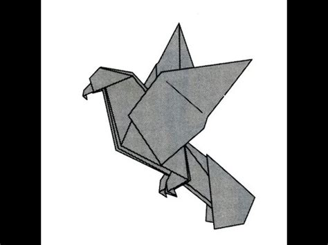 How To Make A Eagle Out Of Paper - origami bald eagle by montroll