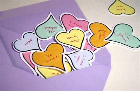 spunti per lettere d fai da te i cuori per san valentino da stare