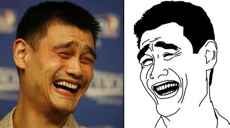 yao ming meets  yao ming meme sicom