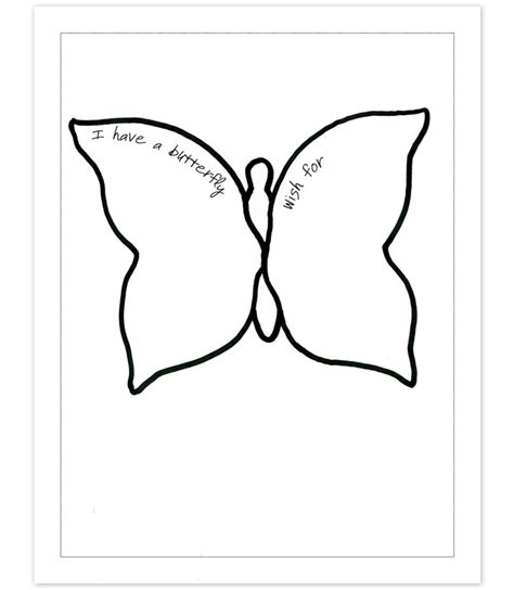 Butterfly Templates To Print Az Coloring Pages Coloring Pages Cutouts