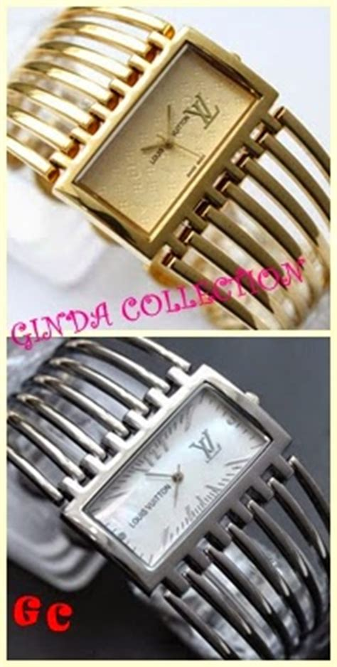 New Jam Tangan Guess Rantai Sisir Supplier Fashion ginda collection new jam tangan louis vuitton lv