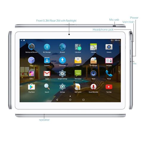 Tablet Android One tablet android 10 1 pollici dual sim negozio equo