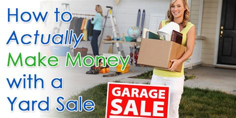 How To Prepare For A Garage Sale by How To Set Up A Garage Sale Money Maker