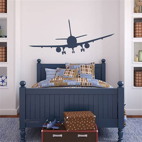 airplane decor boys zimmer items similar to 62x26inches airplane airline aeroplane