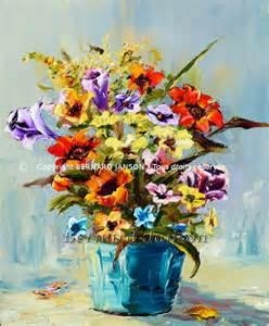oeuvres d contemporain sur le th 232 me des fleurs