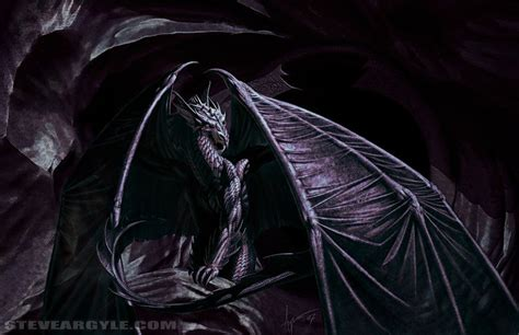 dark dragon fantasy art shadow dragon by ztiev at epilogue
