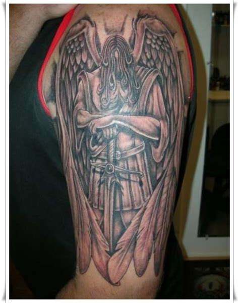 st michael tattoo design 30 st michael design ideas