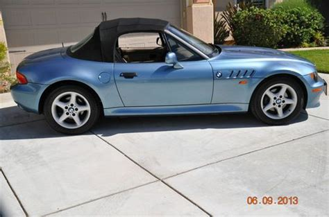 how petrol cars work 1997 bmw z3 electronic toll collection purchase used 1997 bmw roadster z3 2 8 l engine automatic 12 800 miles in temecula
