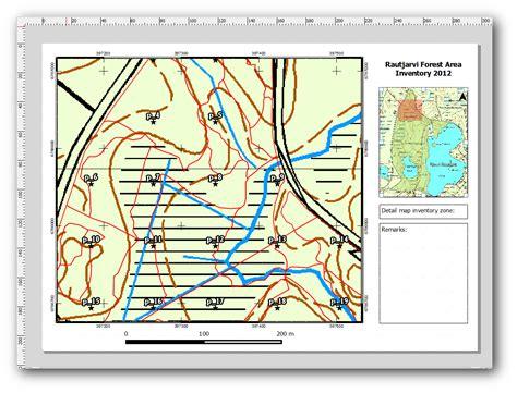 qgis layout templates 14 6 lesson gedetailleerde kaarten maken met het