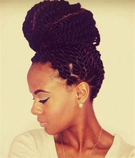 protective hairstyles buns 54 best images about twists on pinterest