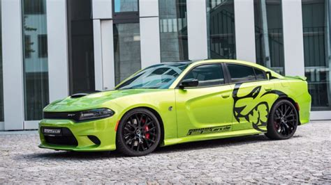 car wallpaper green car green car dodge charger hellcat hd wallpapers