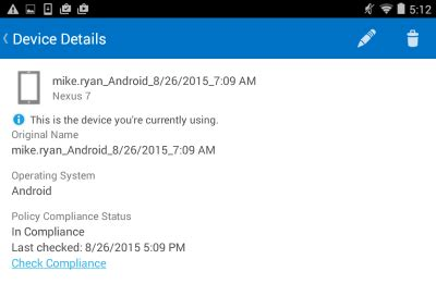 outlook 365 android office 365 mobile device management enrolment for android