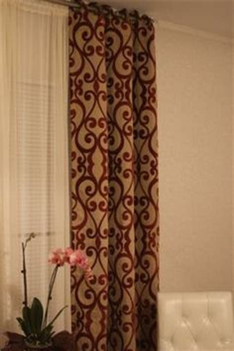 palais grommet top curtain panel cindy crawford striped curtains and sitting rooms on