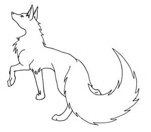 wolf template wolf template by black shirt tie on deviantart