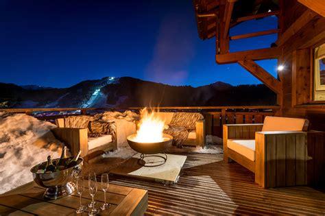 Chalet Fireplace by Chalet M Morzine Alpine Guru