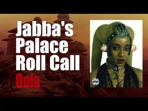 Advertiser Roll Call 2 by Jabba S Palace Roll Call 3 Oola