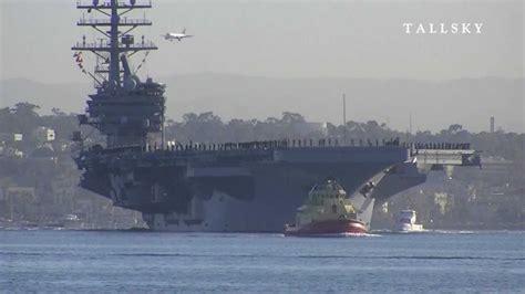ronald portaerei us navy uss ronald cvn 76 2011 deployment