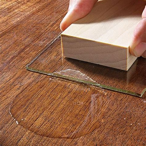 woodworking finishing techniques how to fix flaws in finishes