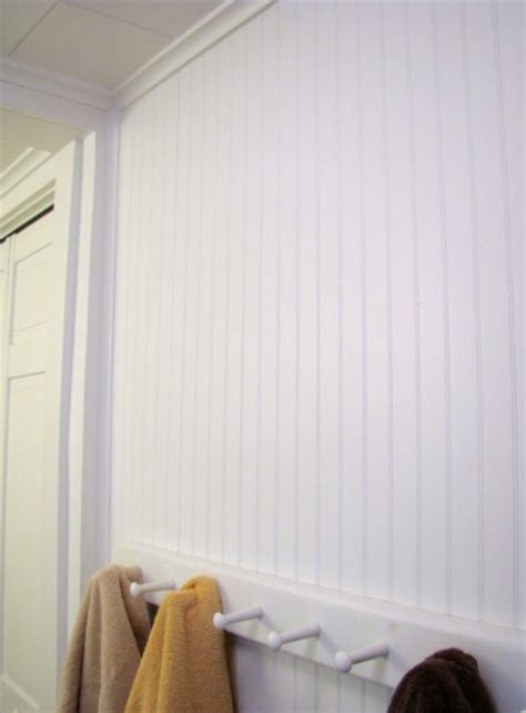 how to put up beadboard in bathroom how to install beadboard diy pj fitzpatrick