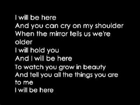 lyrics albert posis ft shiny i will be here cover albert posis ft mejia