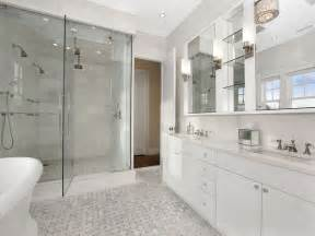 marble master bathroom design ideas bianco carrara mosaic tile contemporary artistic