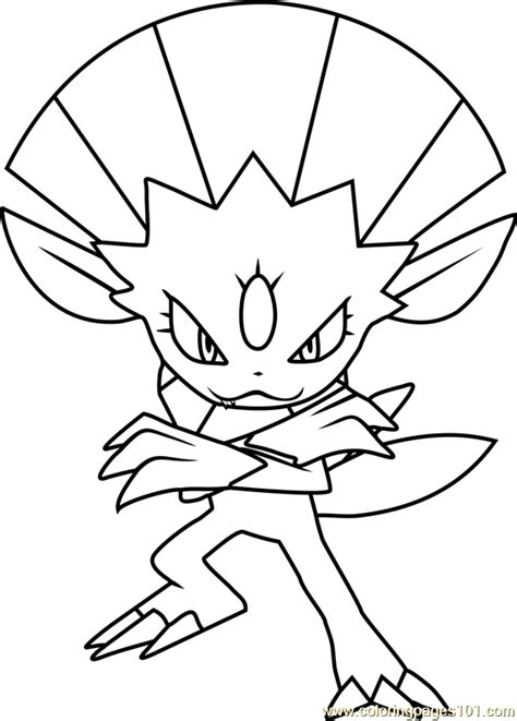 pokemon coloring pages hitmonchan 90 pokemon coloring pages gallade hitmonchan