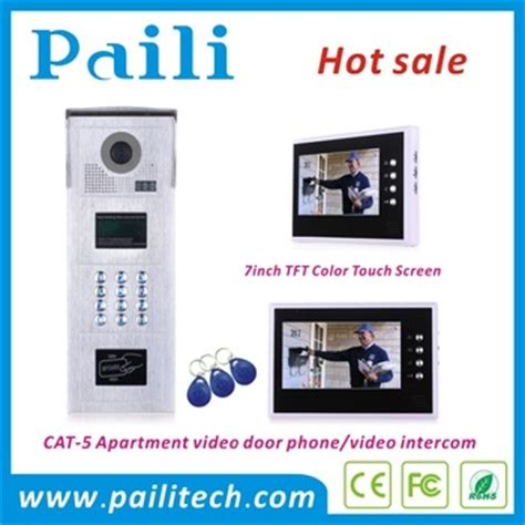 multi apartments door phone intercom door
