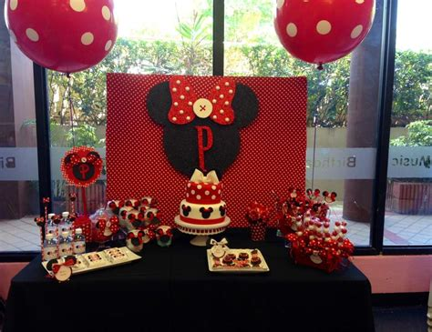 Minnie Mouse St Birthday Decorations by Minnie Mouse Birthday Quot 1st Birthday Quot Catch My