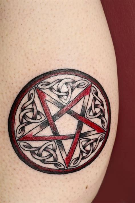 pentagram tattoos wiccan pentagram designs www pixshark