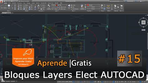 tutorial autocad basico pdf autocad 2015 tutorial basico starter 15 electricidad