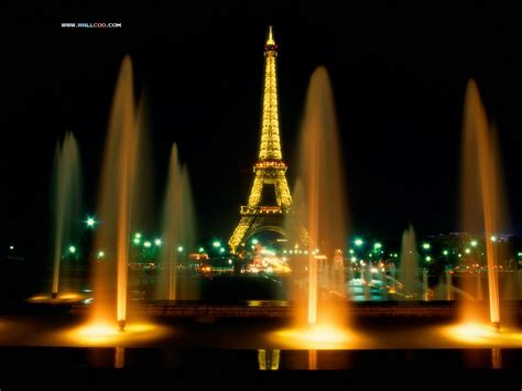 Favorite Things Home Decor by Paris Paris France At Night