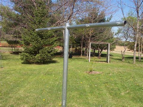 clothesline design heavy duty t post clothesline poles clotheslines com