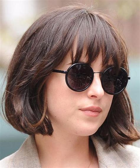 chin length hairstyles with bangs 17 overwhelming bob hairstyles 2018 for for an eye