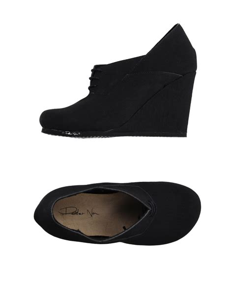 black lace up shoes non lace up shoes in black lyst