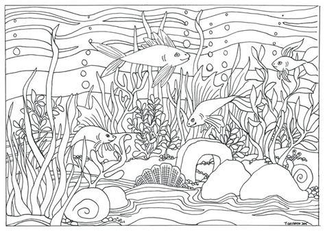 town coloring book stress relieving coloring pages coloring book for relaxation volume 4 books fish aquarium coloring page by triciagriffitharts