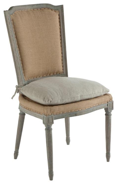farmhouse chair cushions pair ethan country rustic hemp dining chair with