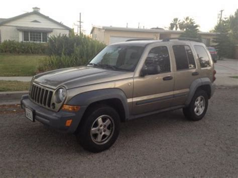 2006 Jeep Liberty Diesel Sell Used 2006 Jeep Liberty 2 8l Diesel In West