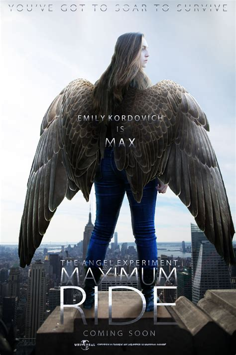 maxium ride maximum ride the experiment poster by