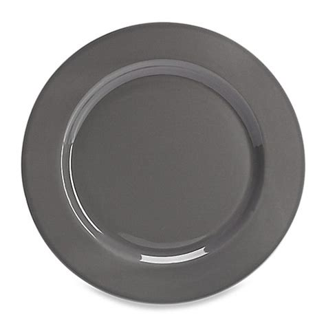 bed bath and beyond dinner plates real simple 174 dinner plate in smoke bed bath beyond