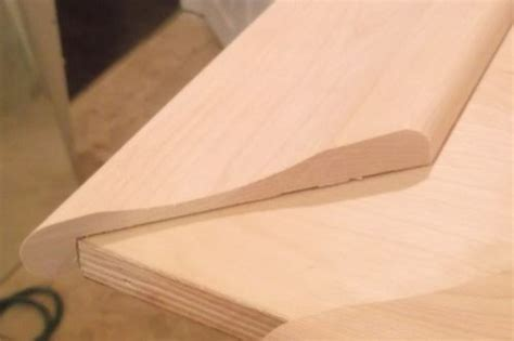 bar top moldings shop made bar rail moulding part deux by ewjsmith lumberjocks com woodworking