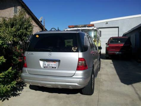 Sell Used 2005 Silver Mercedes Ml350 Great Condition
