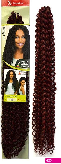 xpressions vivi curls x pression curly outre x pression 4 in 1 crochet braid