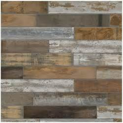 marazzi montagna wood vintage chic 6 in x 24 in