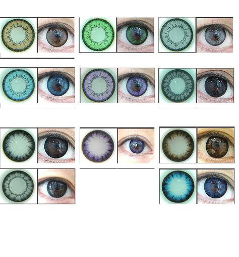 color contact lens tips for eye contact lens fashion tips