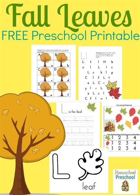 printable fall leaves for preschoolers free fall leaves preschool printable money saving mom