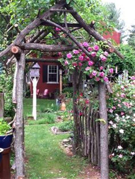 how do you spell backyard diy arbors and trellis made from branches around the