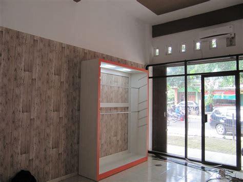 Lemari Pakaian Etalase etalase display furniture semarang